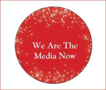 WE ARE THE MEDIA NOW RED DOT