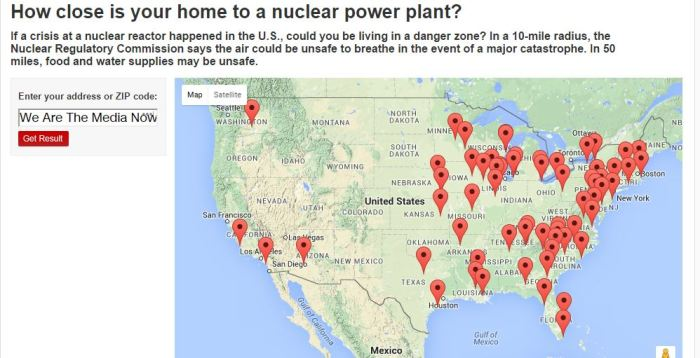 CNNs partial nuke list HOW CLOSE IS YOUR HOME